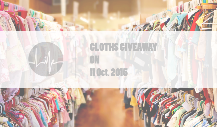 Clothes giveaway